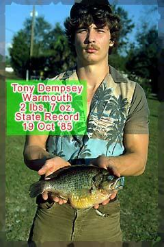 Tony dempsey for Florida state fish